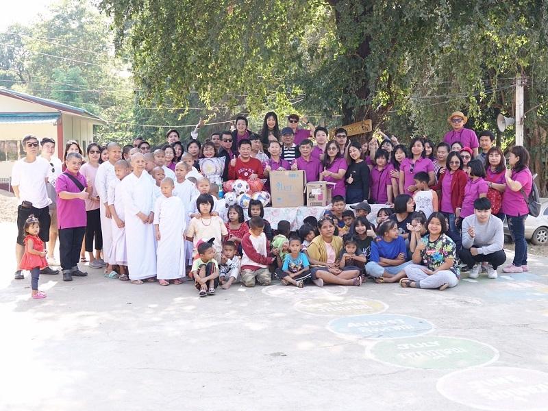DLO's CSR Activity at Thummanurak Foundation on Saturday 14 December 2019