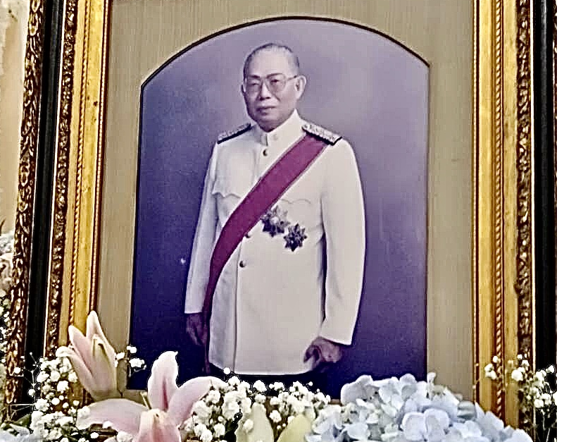 Royally Sponsored Cremation for Adjunct Professor Preecha Panichwong